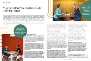 Dynamisch Bureau in Clique Magazine (bij Elsevier)